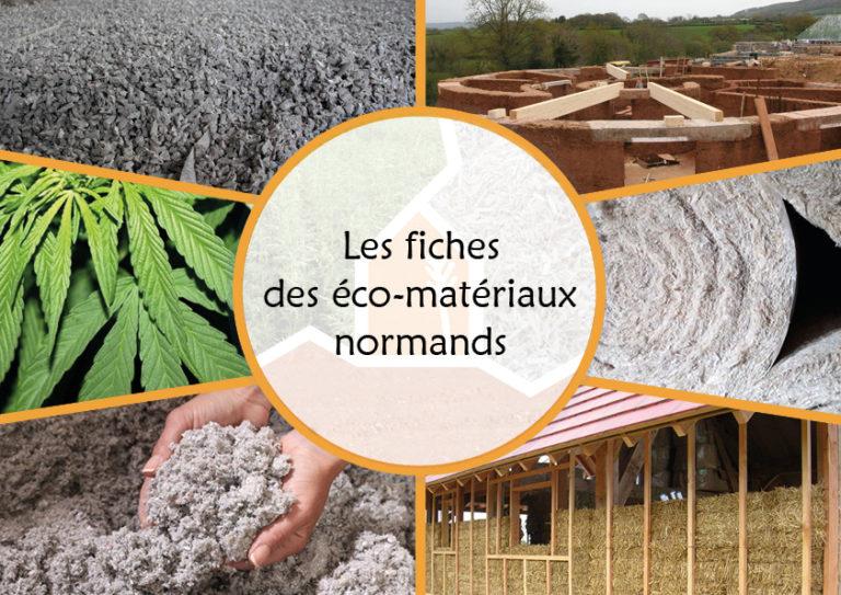 Les fiches des éco-matériaux normands