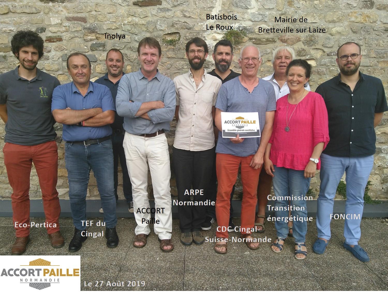 Reportage France 3 sur l'éco-construction : les Chantiers de Demain et Accort Paille Normandie sont à l'honneur !