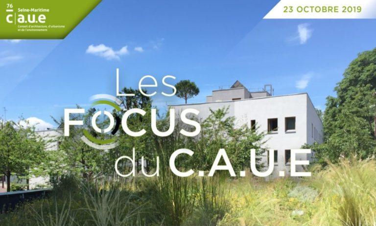 Mercredi 23 octobre : FOCUS 18h/20h du C.A.U.E. 76 sur les toitures végétalisées