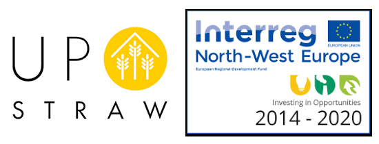Publication du YearBook 2019 du projet Upstraw / Interreg North West Europe