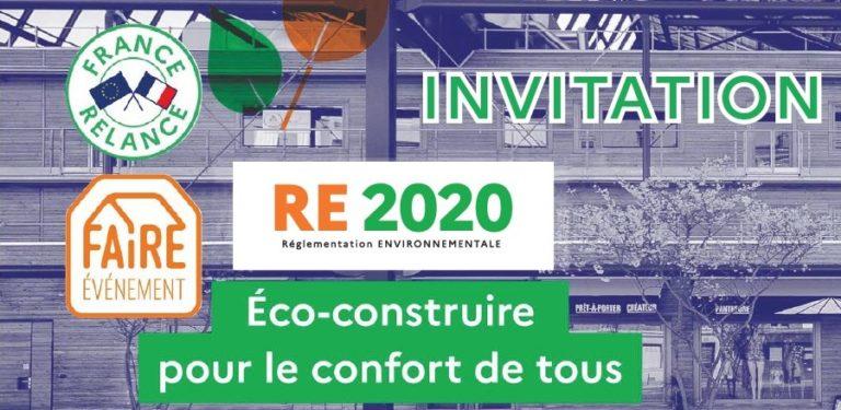 18/02 : webinaire sur la RE2020 et le plan de relance en faveur de la rénovation énergétique