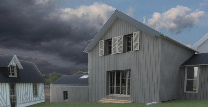 Venez participer à la construction d'une maison zéro béton !