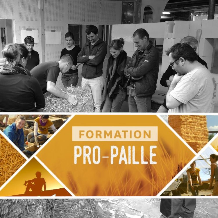 25-31/08 : Formation Pro-Paille
