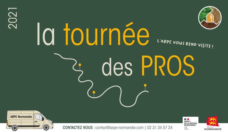 Découvrez notre nouveau projet : la Tournée des Pros !